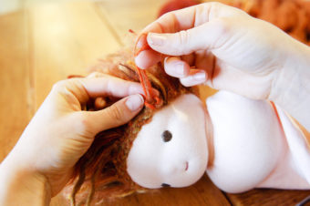 Doll Wig Tutorial by Sew Liberated