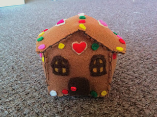 Gingerbread House Plush Pattern by Tammy