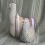 Hen Plush Pattern by Mad about Pink