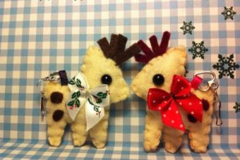 Reindeer Plush Pattern by Tammy