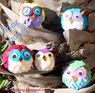 Felt Owl Pattern by Minimoz
