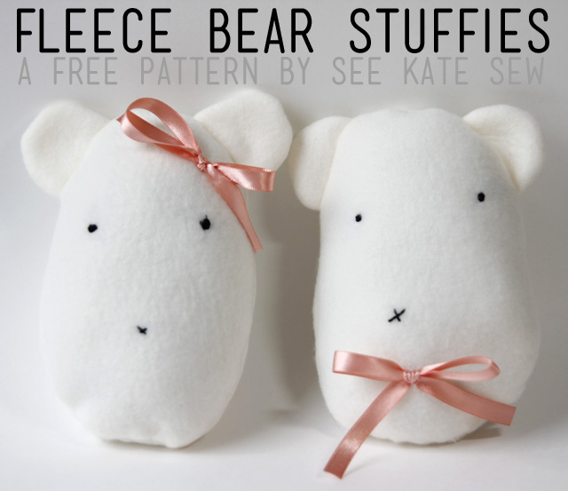 Fleece Bear Stuffie