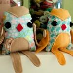 Plush Pattern Little Birdie by Viviana
