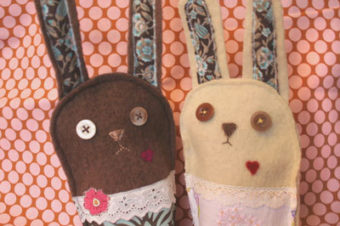 Plush Pattern Naughty Bunny by Nini Makes