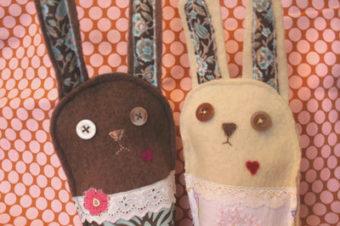 Plush Pattern Naughty Bunny by Nini Makes