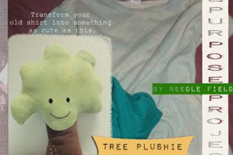 Plush Pattern Tree by Needle Field