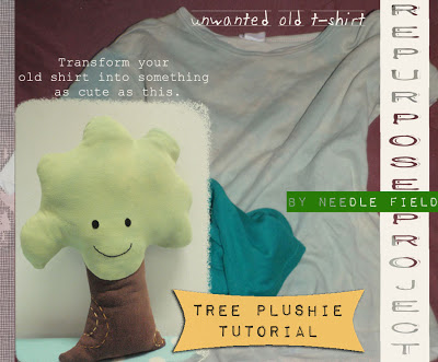 Plush Pattern Tree by Needle Field