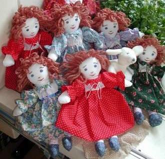 How to embroider the face- Doll Pattern