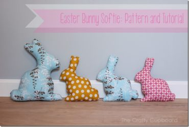 Easter Bunny Softie by The Crafty Cupboard