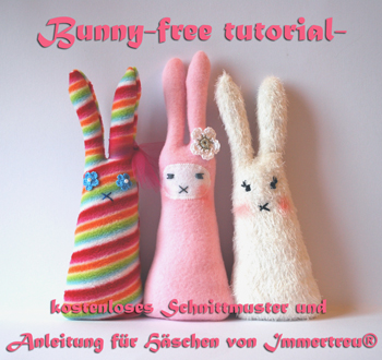 Tall Bunny Pattern by Immertreu