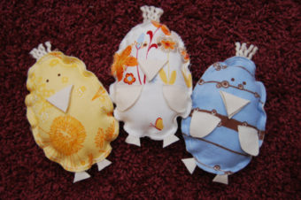 Spring Chicken Plushie by DIY Dreamer