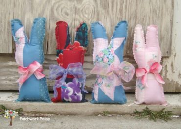 Bunny Pattern by Patchwork Posse