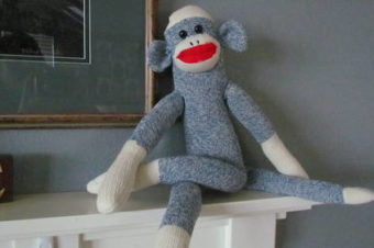 Sock Monkey Pattern on Craftster