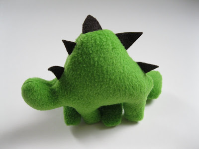 Stuffed Dinosaur Pattern by Monkey See, Monkey Do