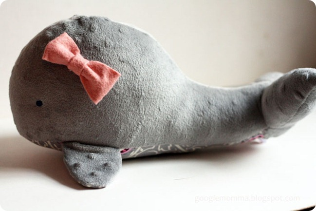 Whale Plushie Pattern by Googiemomma