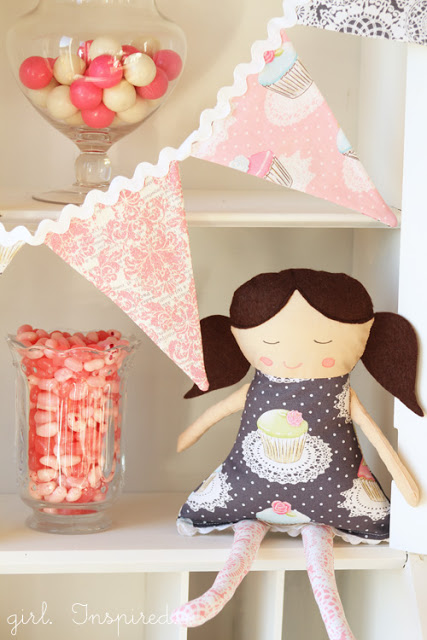 Rag Doll Pattern by Girl Inspired