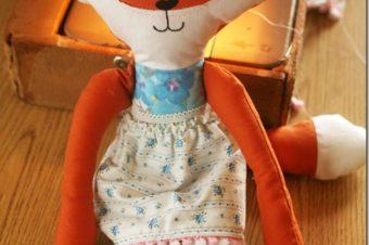 Fox Stuffed Animal Pattern by D.I.Y. Louisville