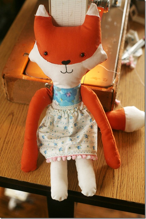 fox stuffed animal