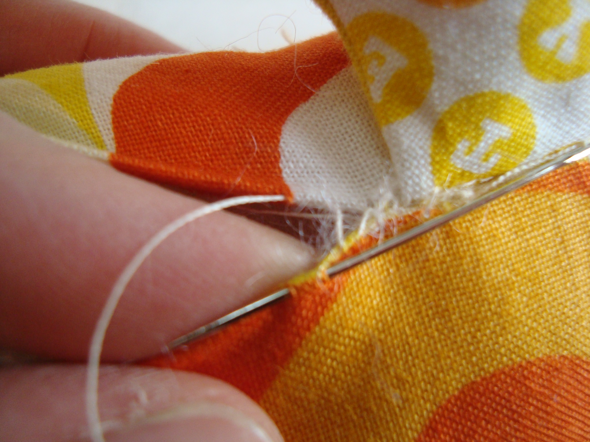 how to sew a ladder stitch