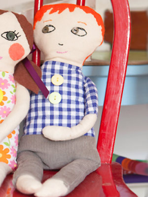sew a rag doll boy tutorial and pattern