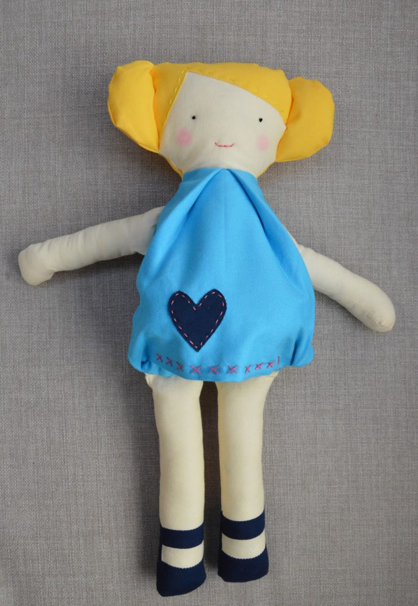 Pregnant Doll Tutorial by Sew Sisters
