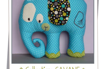 Elephant Plush -modern and fun