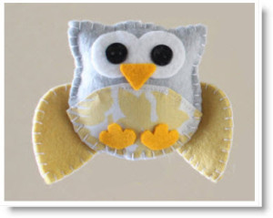 felted owl pattern