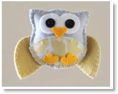 Owl sewing pattern plushie patterns for Felt plushie templates
