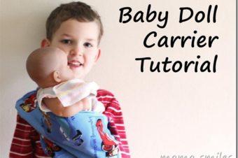 10 Free Doll Carrier Tutorials