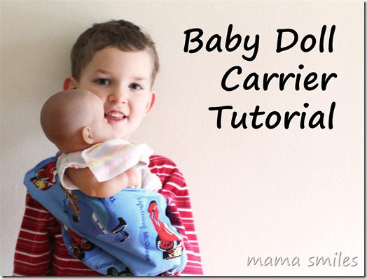 10 Free Doll Carrier Tutorials