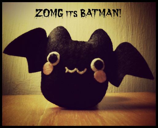 bat pattern for halloween.  Sew it up! plushiepatterns.com