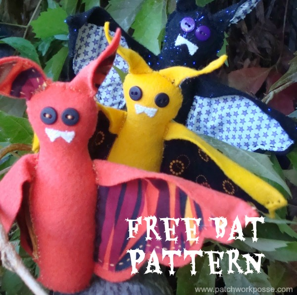 bat pattern for halloween