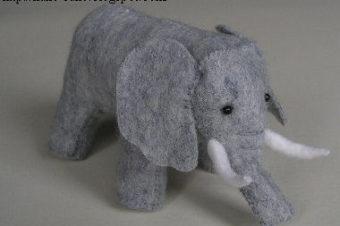 Elephant Stuffed Animal Tutorial