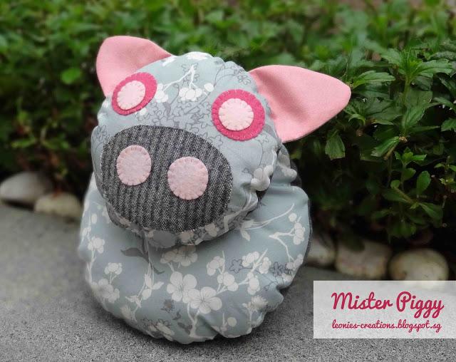Mister Piggy Plushie