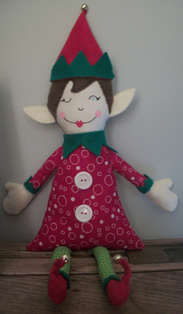 Elf on the Shelf Tutorial and Pattern for doll
