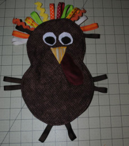 turkey plushie tutorial