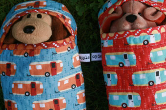 Plush Sleeping Bag Tutorial