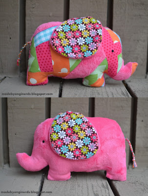 elephant stuffed animal tutorial