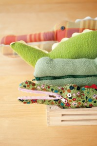 Crocodile Softie- with zipper mouth!