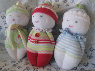 sock baby doll tutorial