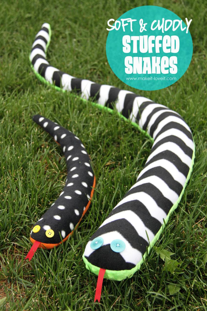 Stuffed Toy Snake plush……soft and cuddly!!