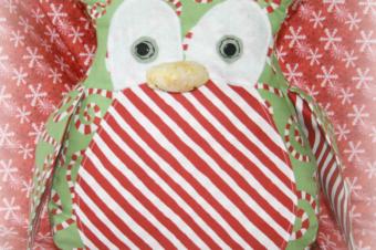 Winter Owl Plush Pattern