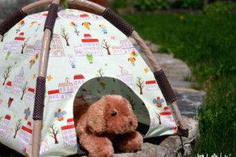 Mini-Tent for Plushies Tutorial