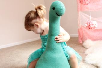 Nessie the Lochness Monster Plushie Tutorial