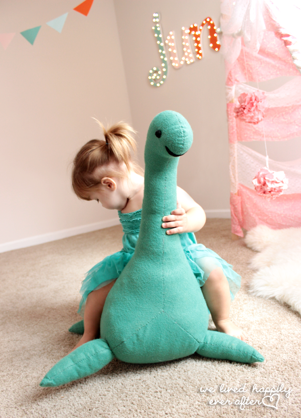 Nessie the Lochness Monster Plushie Tutorial
