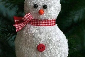 Snowman Plush Pattern- ready for winter!