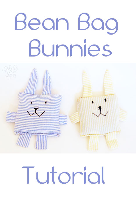 bean bag bunnie or boo boo bunnies - free tutorial and pattern | plushie patterns