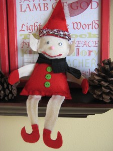 elf on the shelf doll tutorial