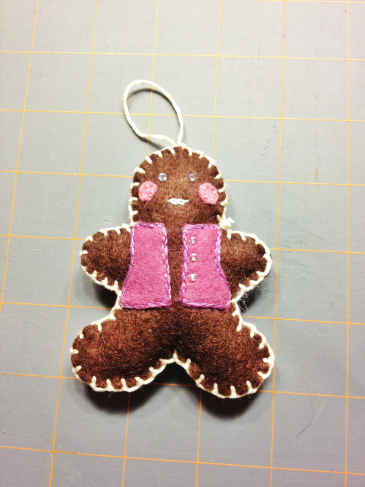 Gingerbread Boy Tutorial and free pattern
