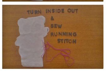 T-Shirt Plushie  Upcycle your clothes!